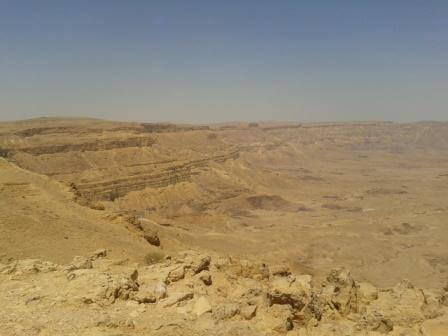 המכתש הקטן (צילום: דנה נמדר)