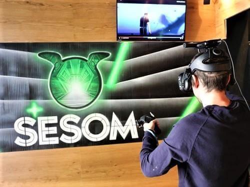 """חווית מציאות מדומה מדליקה ברשת """"ססום"""" של """"מוזס"""""""