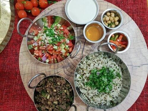 הארוחות של מסעדת גמלייה