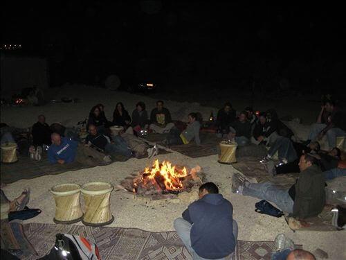 חוויה האמיתית היא הפעילות הלילית בחוות נועם במדבר