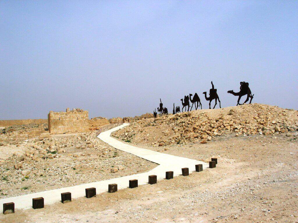 פסלי הגמלים בעבדת, התמונה באדיגות ארכיון רטג