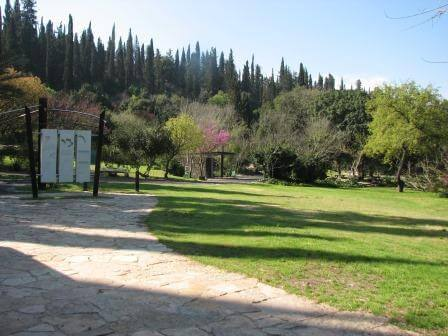 """גן לאומי בית שערים. התמונה באדיבות רט""""ג"""