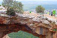 ממערת סולם למערת קשת ובאמצע נמר.