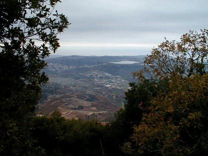 הר מירון – שביל הפסגה