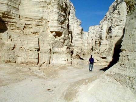 נחל פרצים: מסע סוריאליסטי
