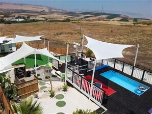 צימר קמפינג אוהל לנוף