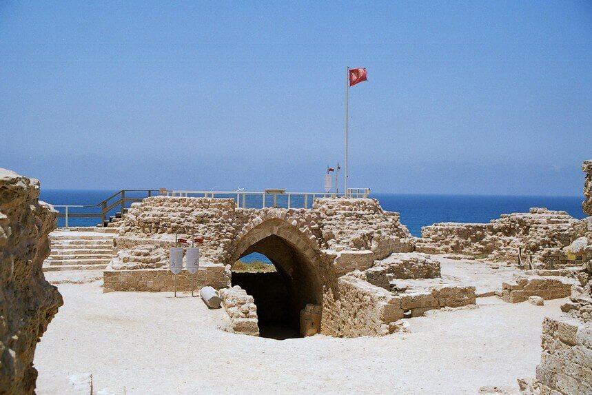 """מבצר אפולוניה. צילום: יח""""צ"""