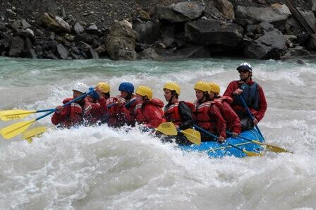 חוויות רפטינג במים