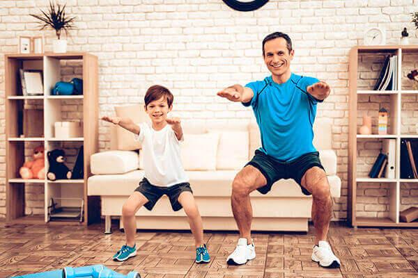 אימון כושר לכל המשפחה