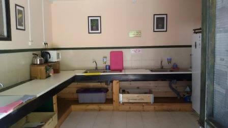 המטבח המרכזי, מאובזר בכל הנדרש