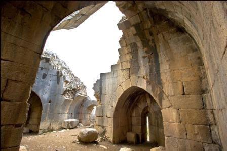 מבצר נמרוד (צילום דורון ניסים)