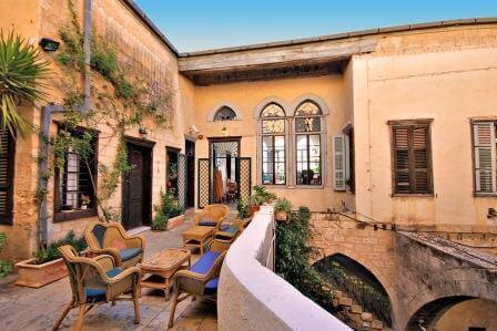 פאוזי עאזר: אירוח בניחוח היסטורי בנצרת העתיקה