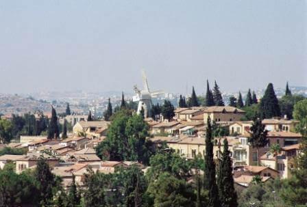 ירושלים לובשת חג