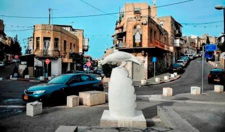 האווירה בחיפה (צילום יונתן אופק)