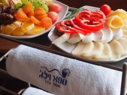 ארוחת בוקר מושקעת במיוחד (צילום אורן גבאי גולן)