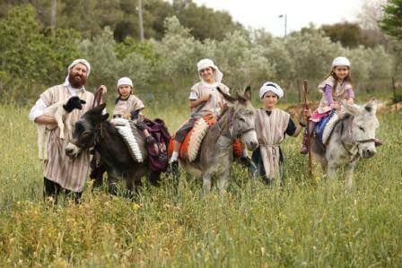כפר קדם (צילום מנחם גולדברג)