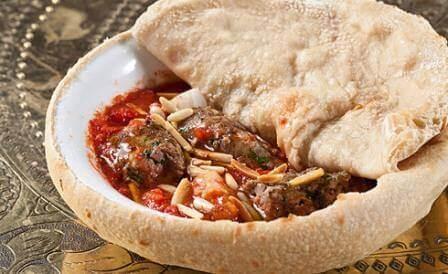 מנה חורפית במיוחד במסעדת אל באבור (צילום בועז לוי)