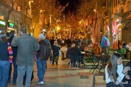 הרחובות, הסימטאות של ירושלים (צילום חיים באידה)