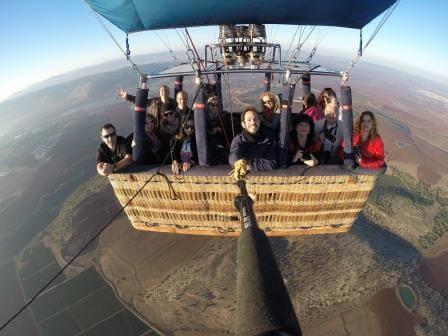 חוויה מלאה אדרנלין עם פאפא, צילום סקיי טרק