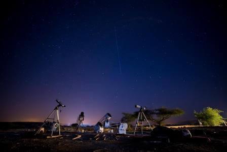 מגוון טלסקופים, צילום יובל פדר