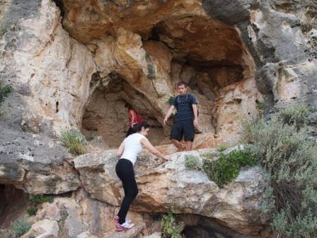 המערה (צילום אורן גבאי גולן)