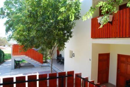 חדרים דו קומתיים עם הרבה ירוק של טבע