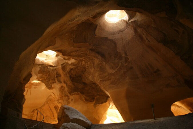 מערות בית גוברין, צילם: ניב לוי