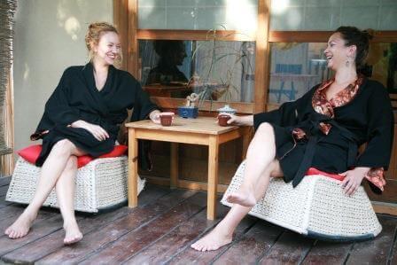 לנפוש באווירה נינוחה, כמו ביפן