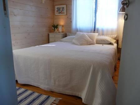 חדרי השינה בבקתת ים