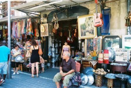 שוק הפשפשים צילום: גליה אלון