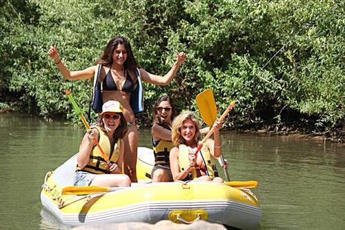 רפטינג בנהר הירדן