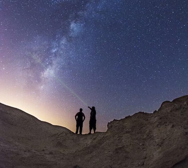 סיורי לילה ותצפית כוכבים בכפר הנוקדים. צילום: יוני גרידנר