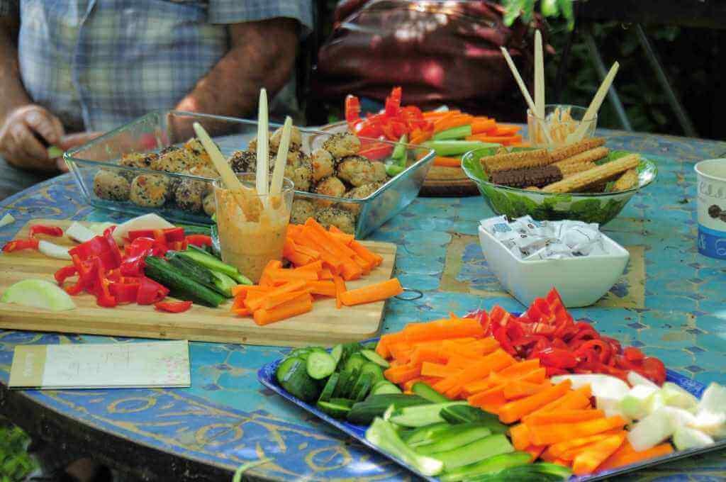 ארוחות עשירות ומגוונות, צילום מרינה וסרמן סמסון