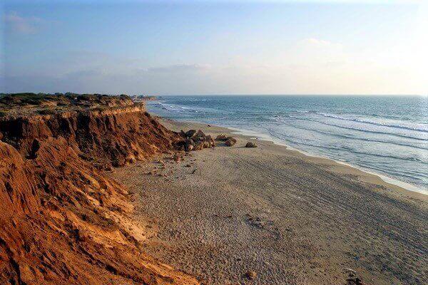 """גן לאומי חוף השרון. צילום: דורון ניסים לרט""""ג"""